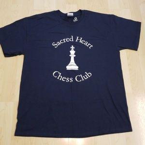 👕EUC 👕 - Sacred Heart Chess Club Tshirt